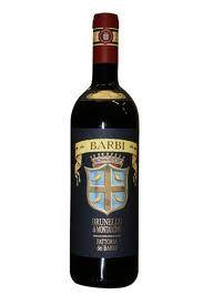 Brunello di Montalcino Red Wine docg Barbi & Colombini