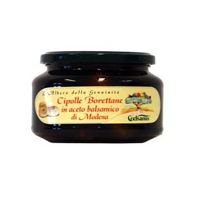 Borettane Onions in Balsamic Vinegar of Modena Coelsanus 210 gr