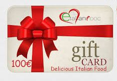 Food Gift Card value 100€