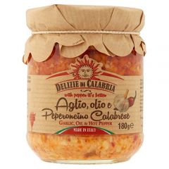 Garlic Oil and Hot Pepper Sauce Delizie di Calabria