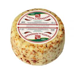 Caciotta Cheese with Hot Pepper Tre Valli