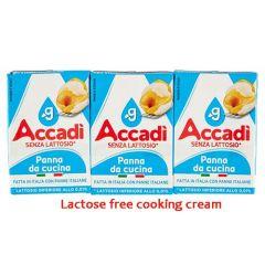 Lactose Free Cooking Cream Accadì Granarolo