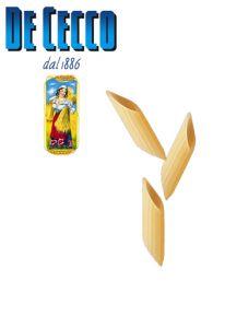 Mezze Penne Rigate DeCecco Pasta