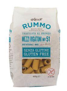 Gluten Free Mezzi Rigatoni Pasta Rummo