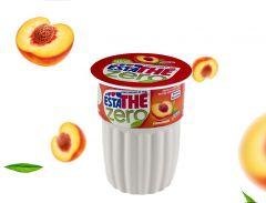 Peach Sugar Free Iced Tea Mix Estathé Glass