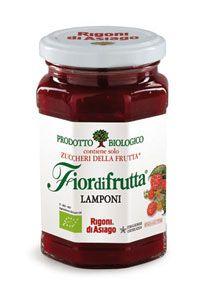 Raspberry Organic Jam Fiordifrutta Rigoni di Asiago 250 ml