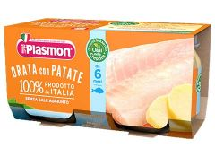 Sea Bream with Potatoes Baby Food  Plasmon
