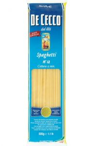 Spaghetti n.12 Pasta De Cecco 500 gr