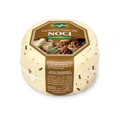 Caciotta Cheese with Walnut Tre Valli