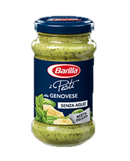 Buy Pesto Without Garlic Genovese Sauce Barilla Online