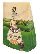 Aged Parmesan Reggiano for  22 months Parmareggio