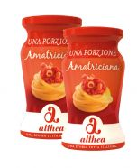 Amatriciana Pasta Sauce Single Portion Althea 2x120 gr