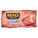 Canned Beans and Tuna Rio Mare