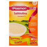 Sabbiolina Plasmon Pasta for Babies