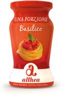 Basil Pasta Sauce Single Portion Althea 2x120 gr