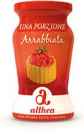 Arrabbiata Pasta Sauce Single Portion Althea 2x120 gr